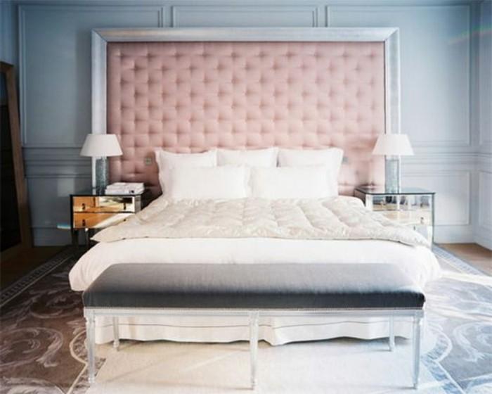 chambre-a-coucher-lit-deux-places-pas-cher-tete-de-lit-capitonné-sol-en-carreaux
