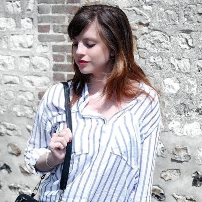 info pour 20513 dc25f La chemise rayée femme - façons de la porter - Archzine.fr