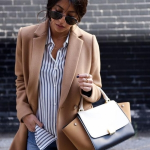 La chemise rayée femme - façons de la porter