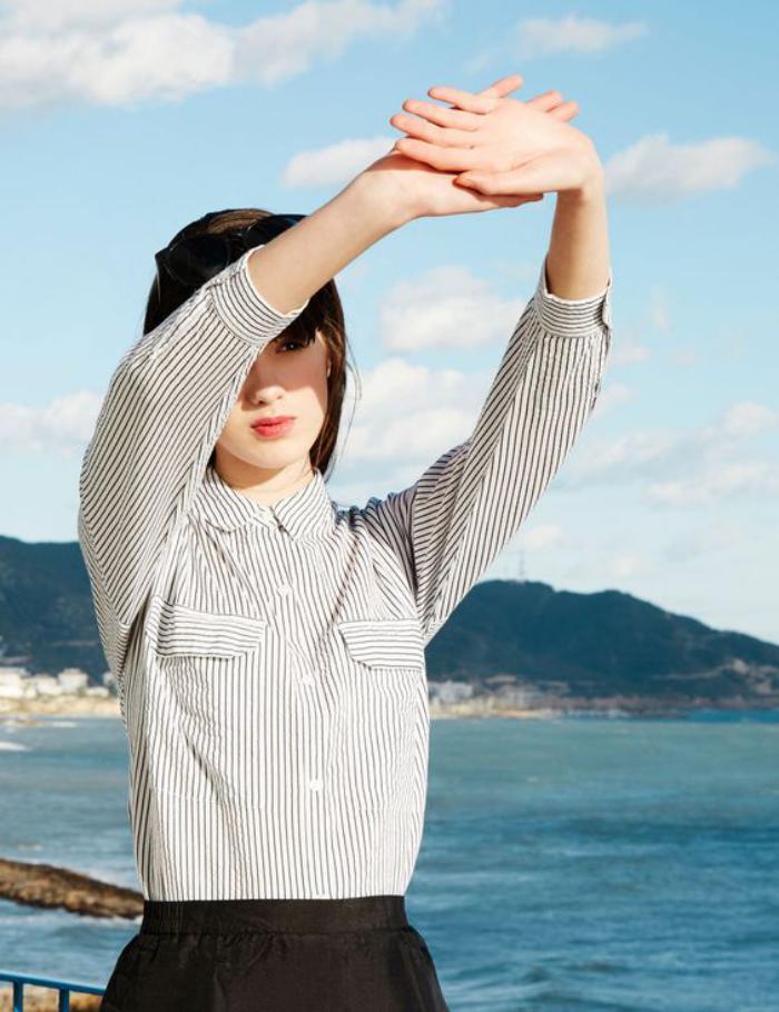 chemise-rayée-femme-col-classique-la-mode-des-rayures