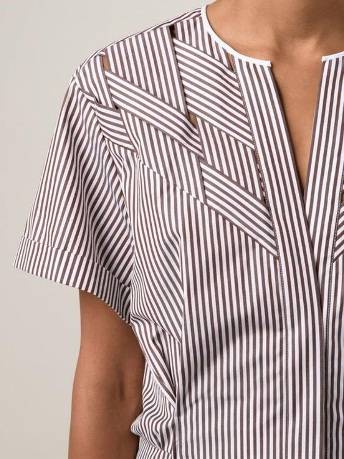 chemise-rayée-femme-design-original-manche-courte