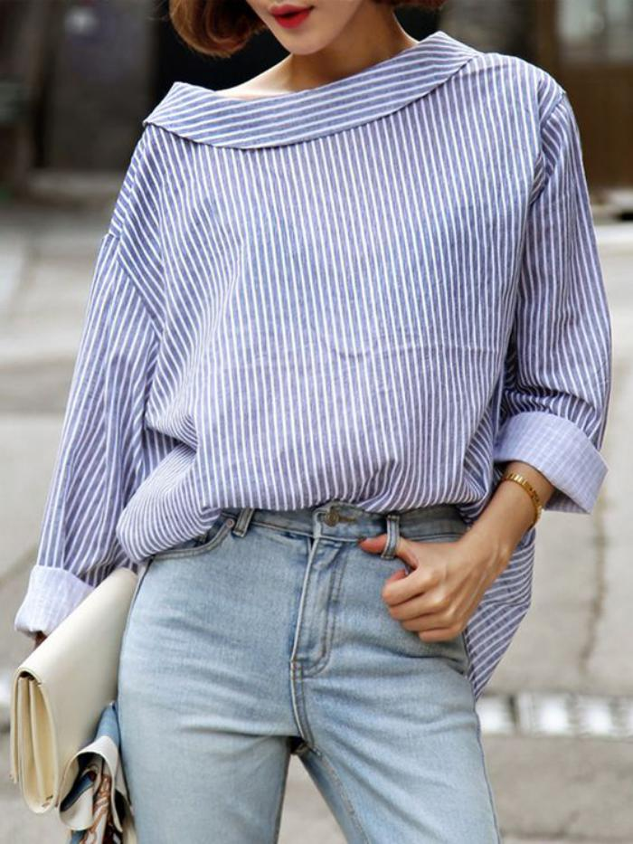 chemise-rayée-femme-une-chemise-fluide-très-chic-et-féminine