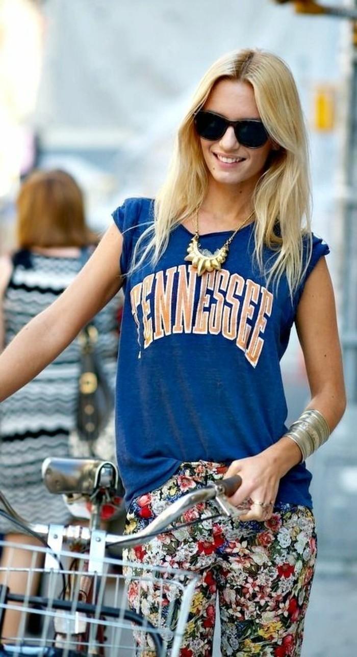 comment-porter-avec-style-le-gros-collier-bijoux-gemo-pas-cher-femme-top-bleu