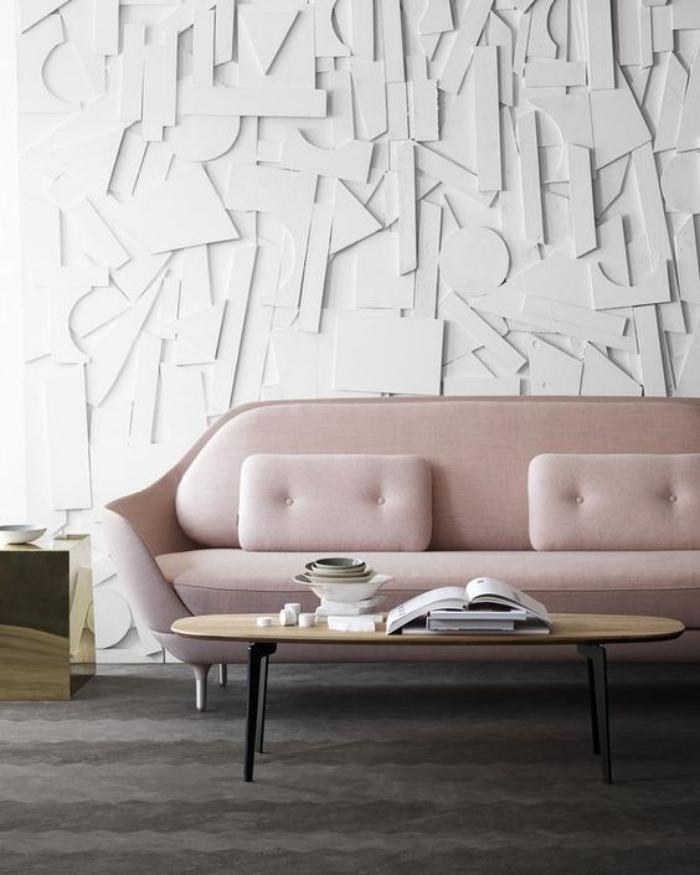 couleur-rose-poudré-beau-sofa-rose-pastel-mur-texté
