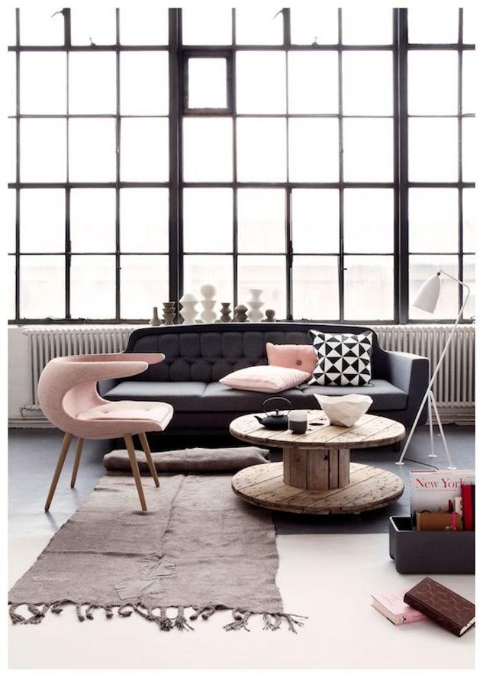 couleur-rose-poudré-décorer-l'intérieur-avec-petits-détails-roses