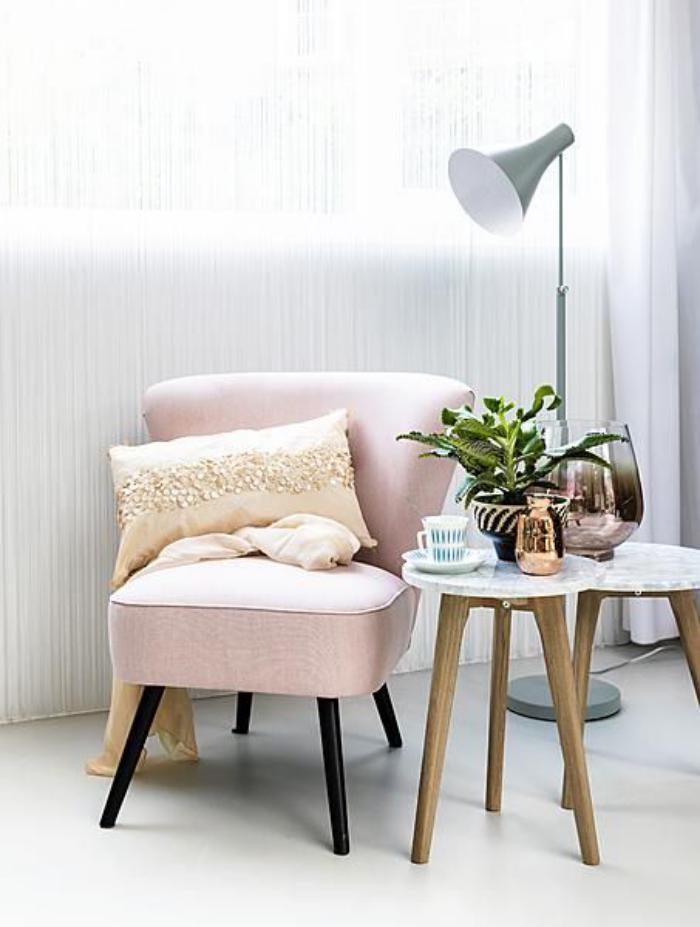 couleur-rose-poudré-mobilier-pour-déco-scandinave