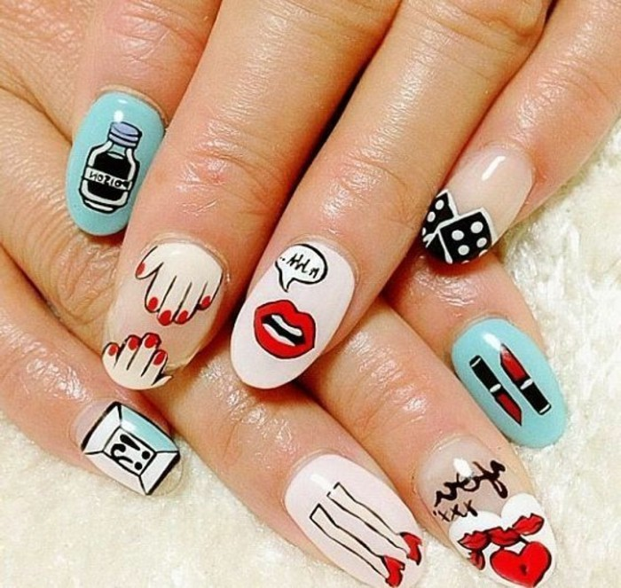 Ongles Decoration Simple : Decoration ongle printemps tendances accueil design et