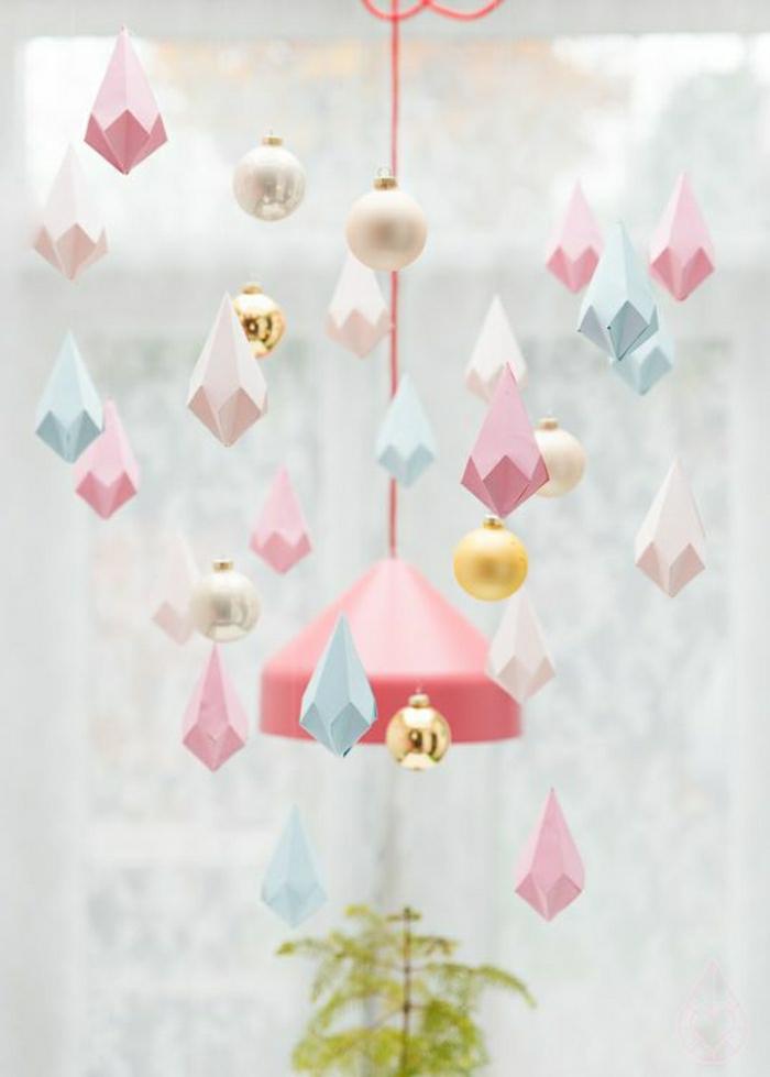 décoration-en-origami-coloré-origami-debutant-comment-faire-un-origami