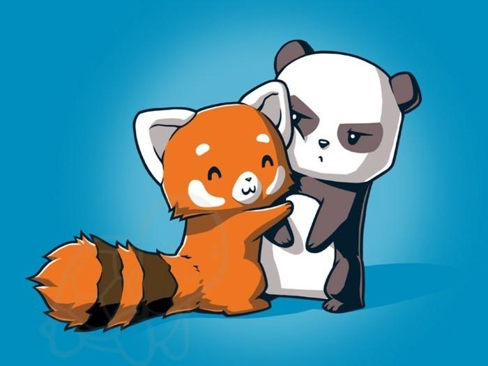 de-panda-roux-cuddle-panda-noir-et-blanc