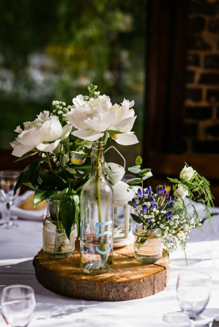 Comment d corer le centre de table mariage - Magasin decoration pas cher ...