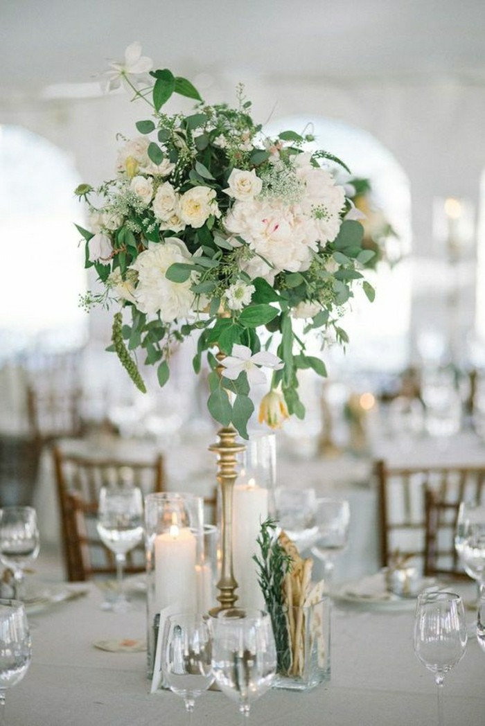 Centerpiece table decorations wedding table decorations centerpieces ideas wedding table for Decoration de table pas cher
