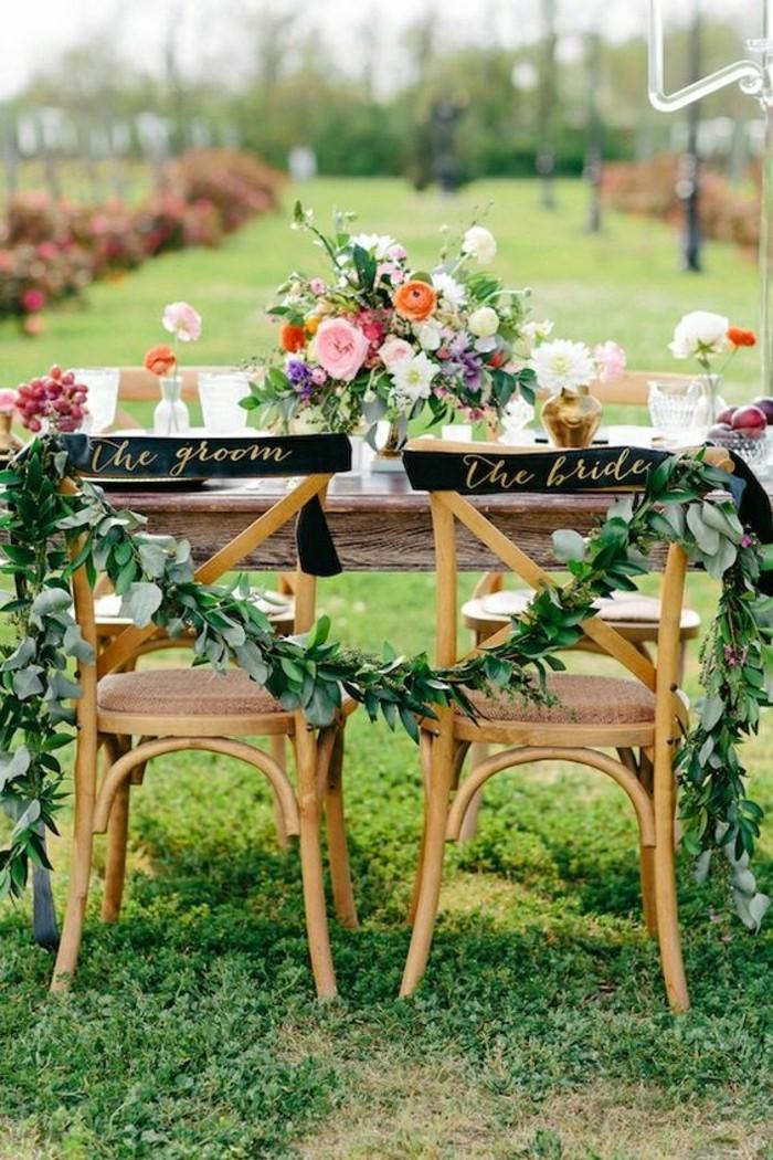 decoration-table-mariage-pas-cher-pelouse-verte-mariage-de-jardin-sur-une-pelouse-verte