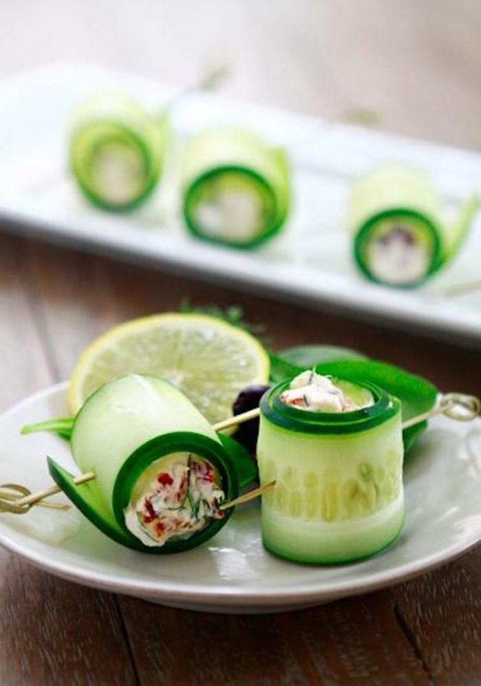 Les plus d licieuses entr es froides recettes en photos et for Entree gastronomique originale