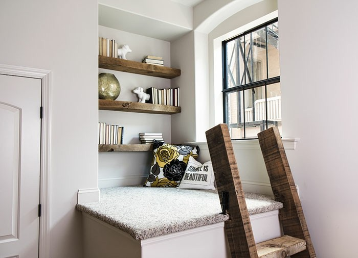 ... simples et rapides pour organiser un coin de lecture à la maison