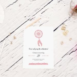 Carte d'invitation anniversaire - les variantes les plus originaux!