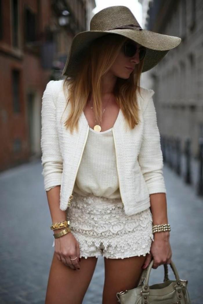 excellente-idée-tenue-casuel-short-en-jean-le-total-blanc