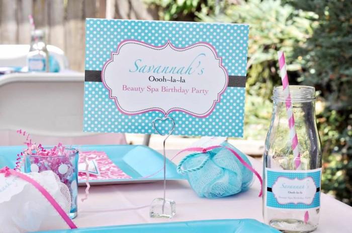 formidable-deco-table-anniversaire-meilleures-idées-rose-et-bleue