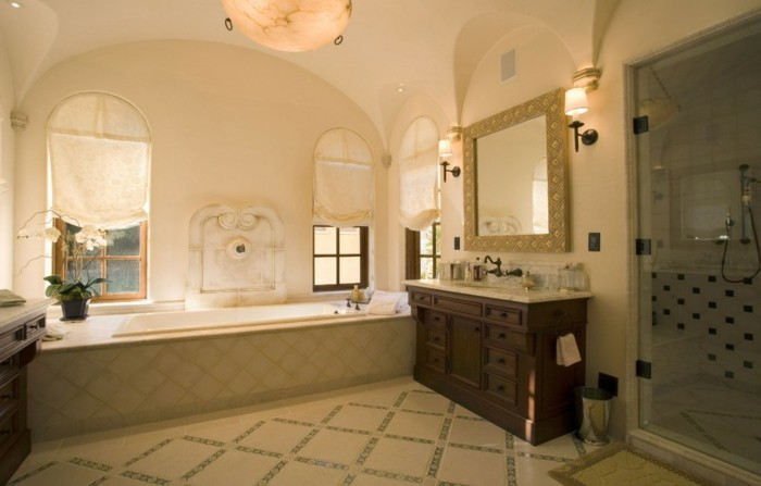 frais-idée-intérieur-maison-style-colonial-idée-décoration-salle-de-bain