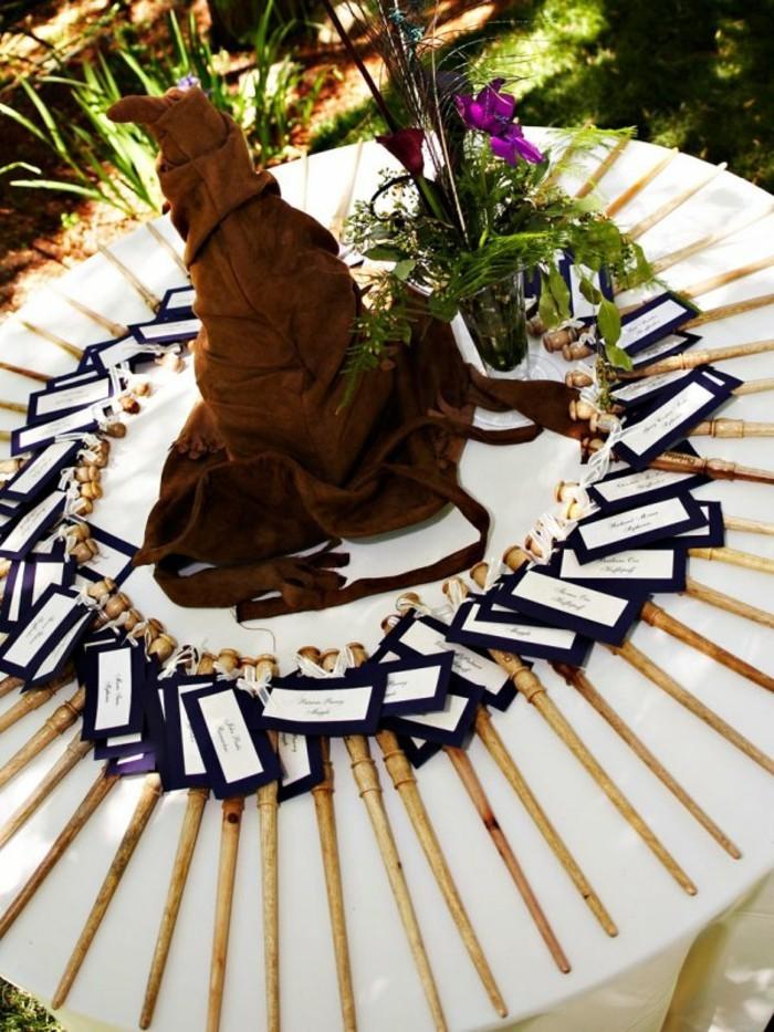 harry-potter-poudlard-hogwarts-mariage-thème-table