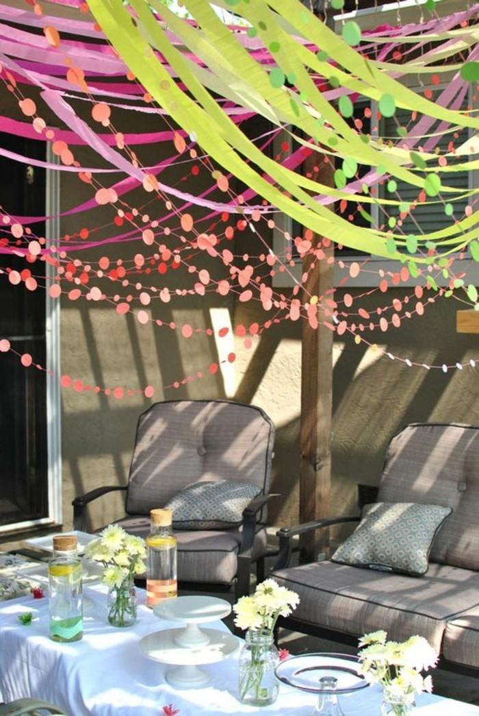 La d coration anniversaire adulte en 60 magnifiques photos for Idee deco jardin pour fete