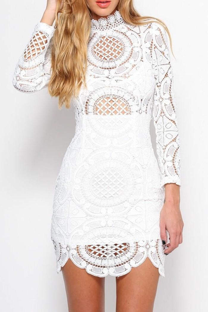 idée-quelle-robe-noire-a-dentelle-en-blanc-idee-robe-en-dentelle