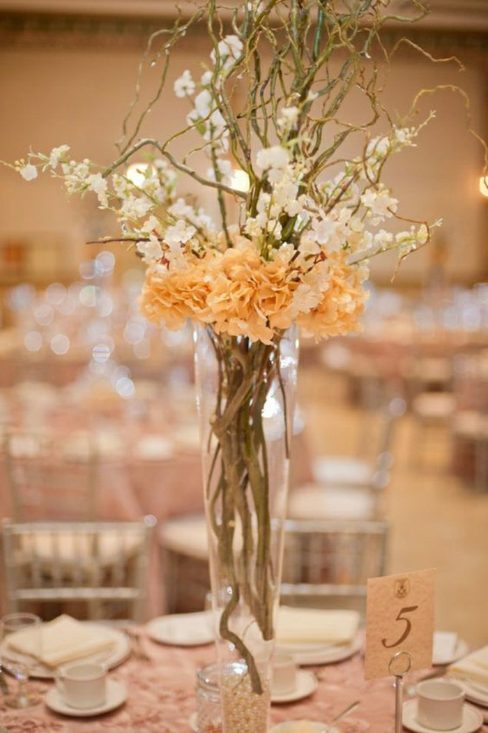 Comment d corer le centre de table mariage - Idee de decoration de table ...