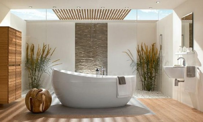 Comment cr er une salle de bain zen for Idee salle de bain zen et nature