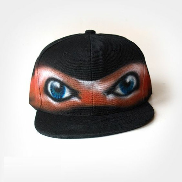 image-casquettes-personnalisées-idée-diy-cool-ninja