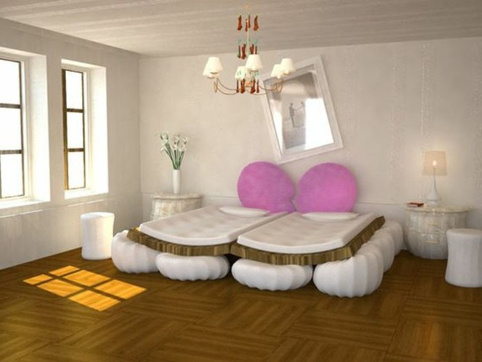 Le meilleur mod le de votre lit adulte design chic - Chambre adulte originale ...