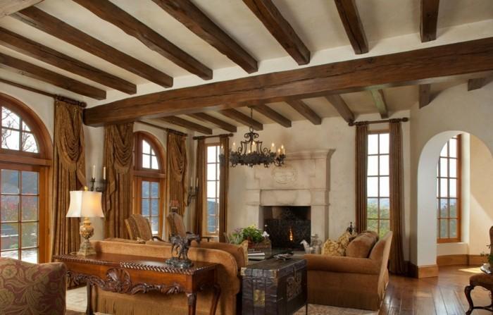 intérieur-maison-style-colonial-idée-décoration-sale-de-séjour