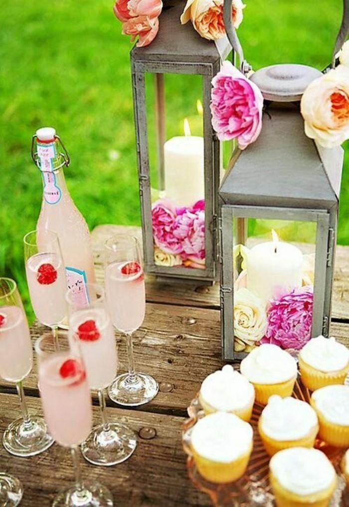 joli-décoration-anniversaire-deco-fete-pas-cher-champagne
