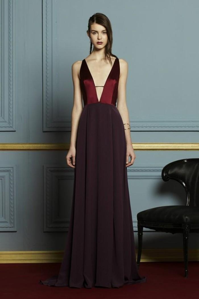 jolie-robe-longue-rouge-foncé-robe-de-mariage-soirée-pas-cher-tendances