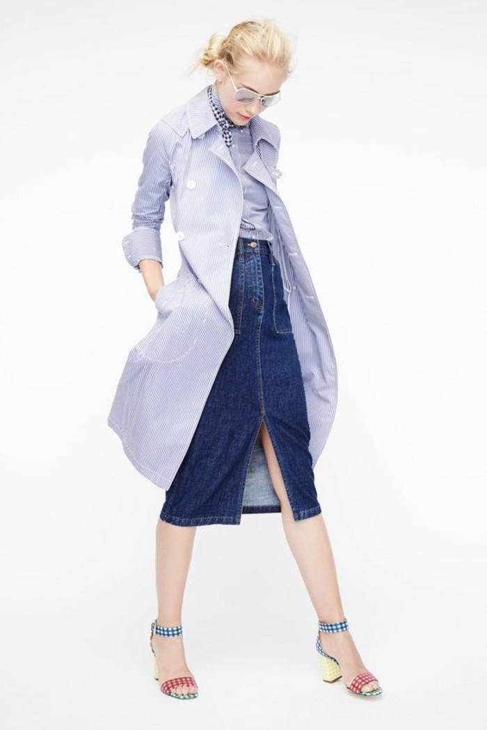 jupe-longue-h&m-en-bleu-foncé-pas-cher-ou-trouver-votre-jupe-longue-en-dneim