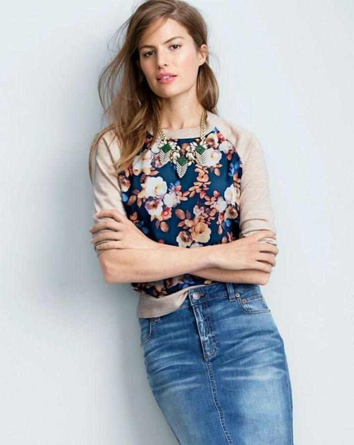 jupe-taille-haute-en-jean-tendances-de-la-mode-femme