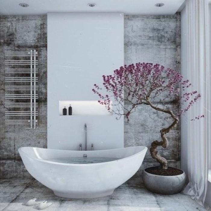 la-plus-belle-salle-de-bain-baignoire-blanche-sol-en-carreaux-gris-baignoire-blanche