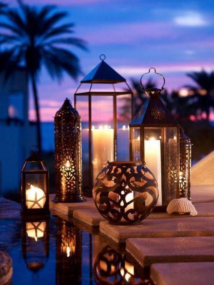 lanterne-bougie-déco-romantique-pour-l'extérieur