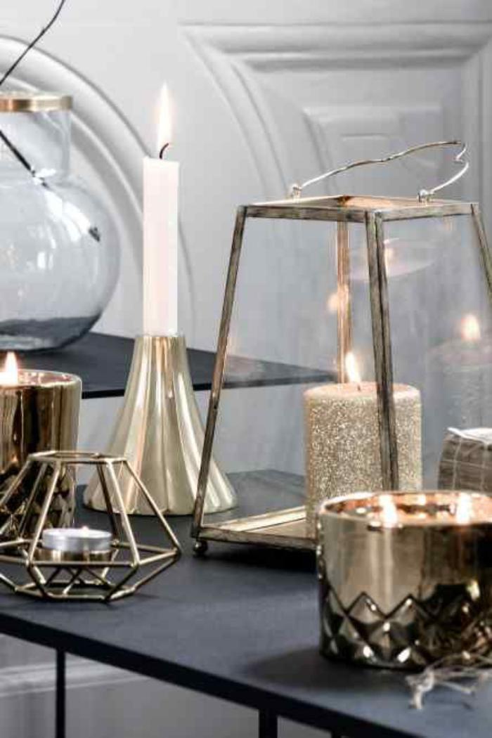lanterne-bougie-décoration-avec-lanterne-élégante