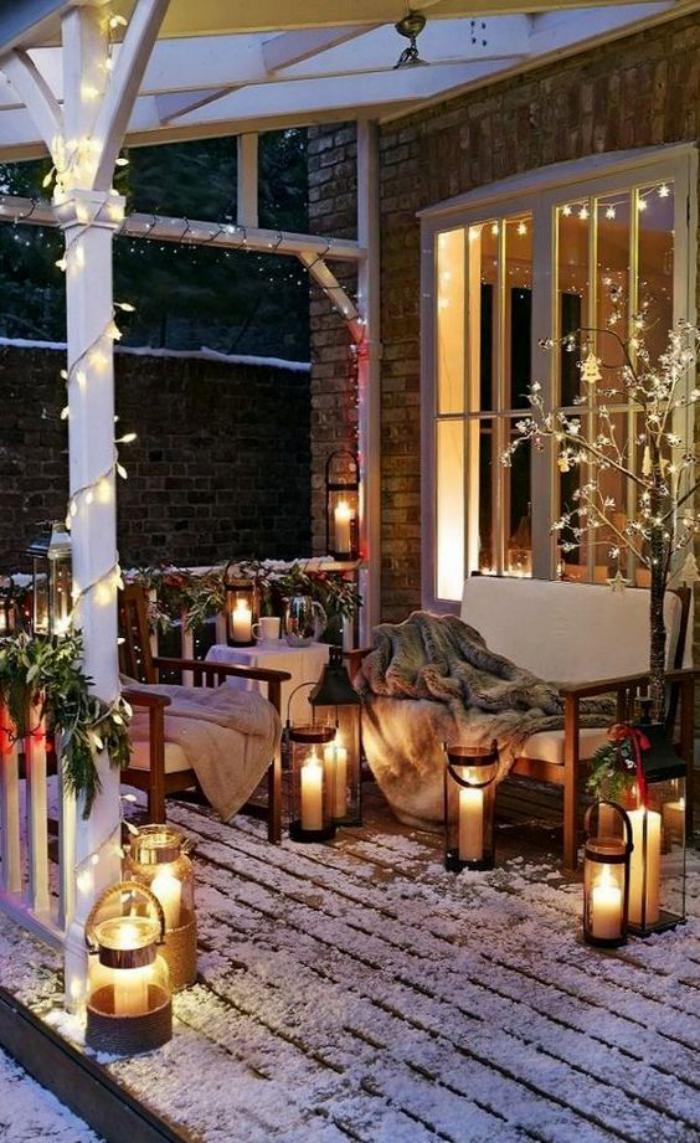 lanterne-bougie-décoration-de-Noel-pour-la-véranda
