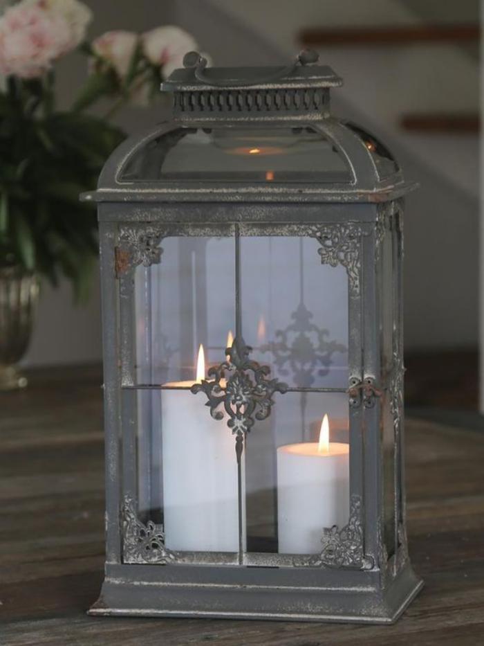 lanterne-bougie-lanterne-à-deux-bougies-blanches
