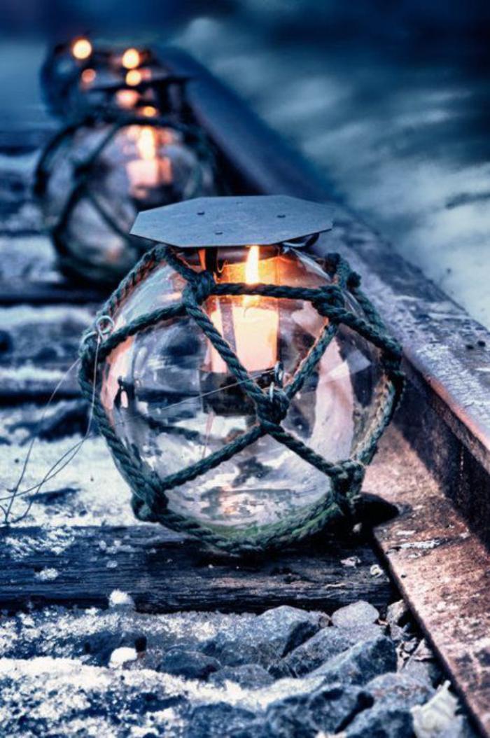 lanterne-bougie-lanternes-à-bougies-sphériques