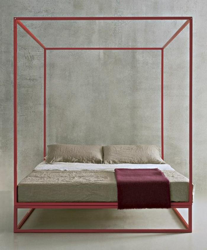 lit-design-contemporain-en-fer-laqué-en-violette-lit-deux-places-pas-cher-adulte