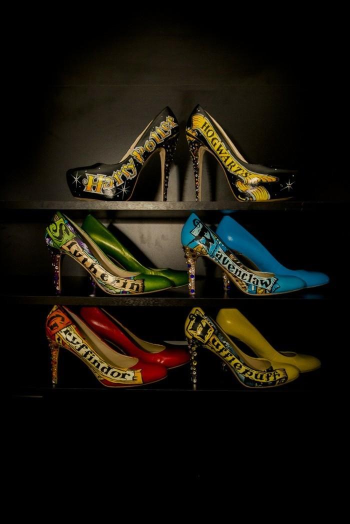 magique-lettre-poudlard-décoration-gâteau-robe-mariée-les-chaussures