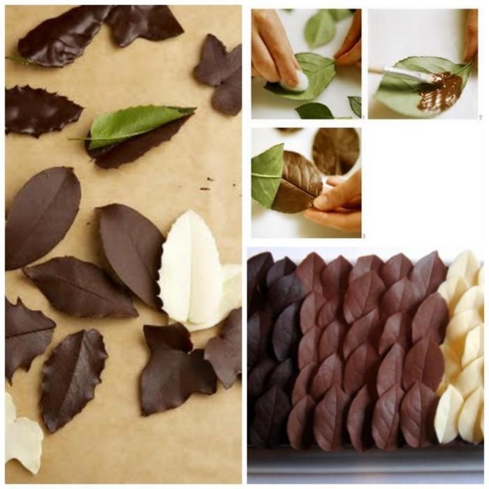 magnifique-idée-diy-avec-feuilles-d-arbres-automne-chocolat