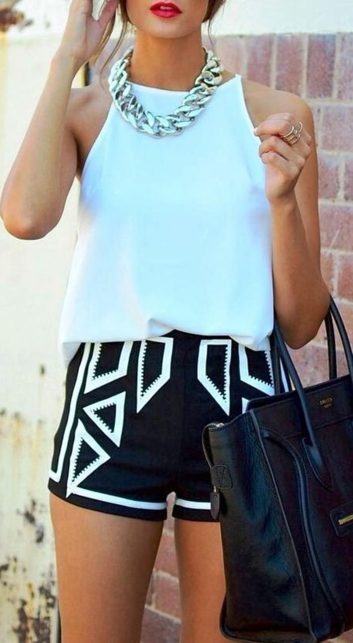 magnignifique-tenue-short-habillé-pour-femme-chic