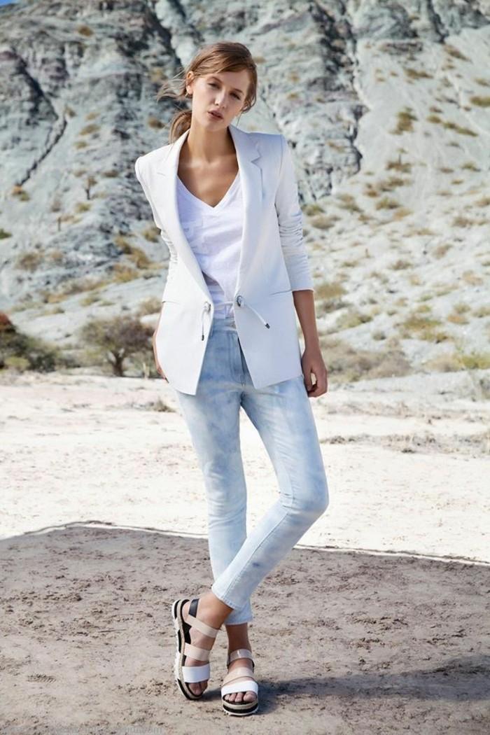 merveilleuse-chaussure-blanc-femme-mode