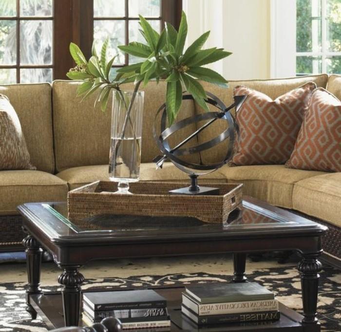 meubles-coloniaux-meuble-ethnique-intérieur-salle-de-sejour