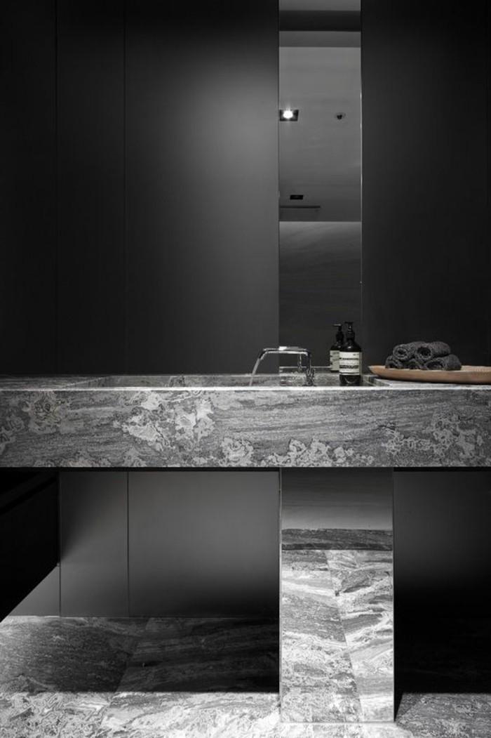 Comment cr er une salle de bain contemporaine 72 photos for Modele salle de bain faience