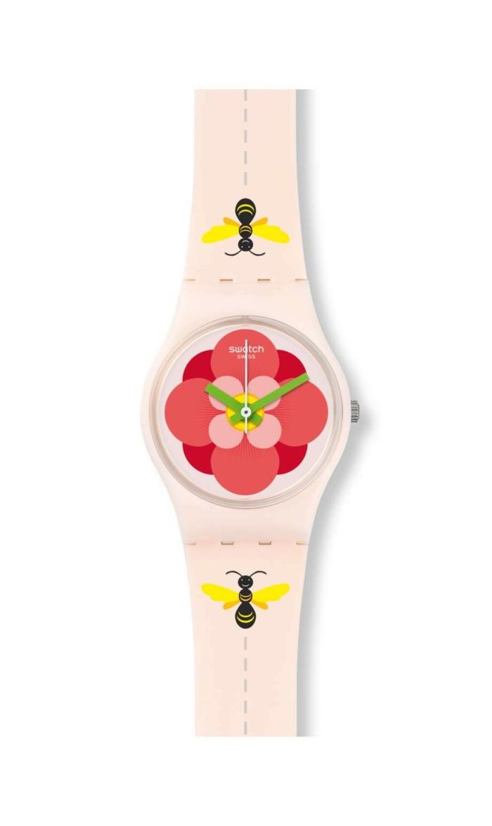 montre-swatch-fleur-rouge-et-abeilles-resized