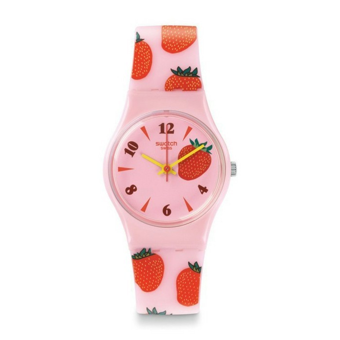 montre-swatch-fraise-rose-resized