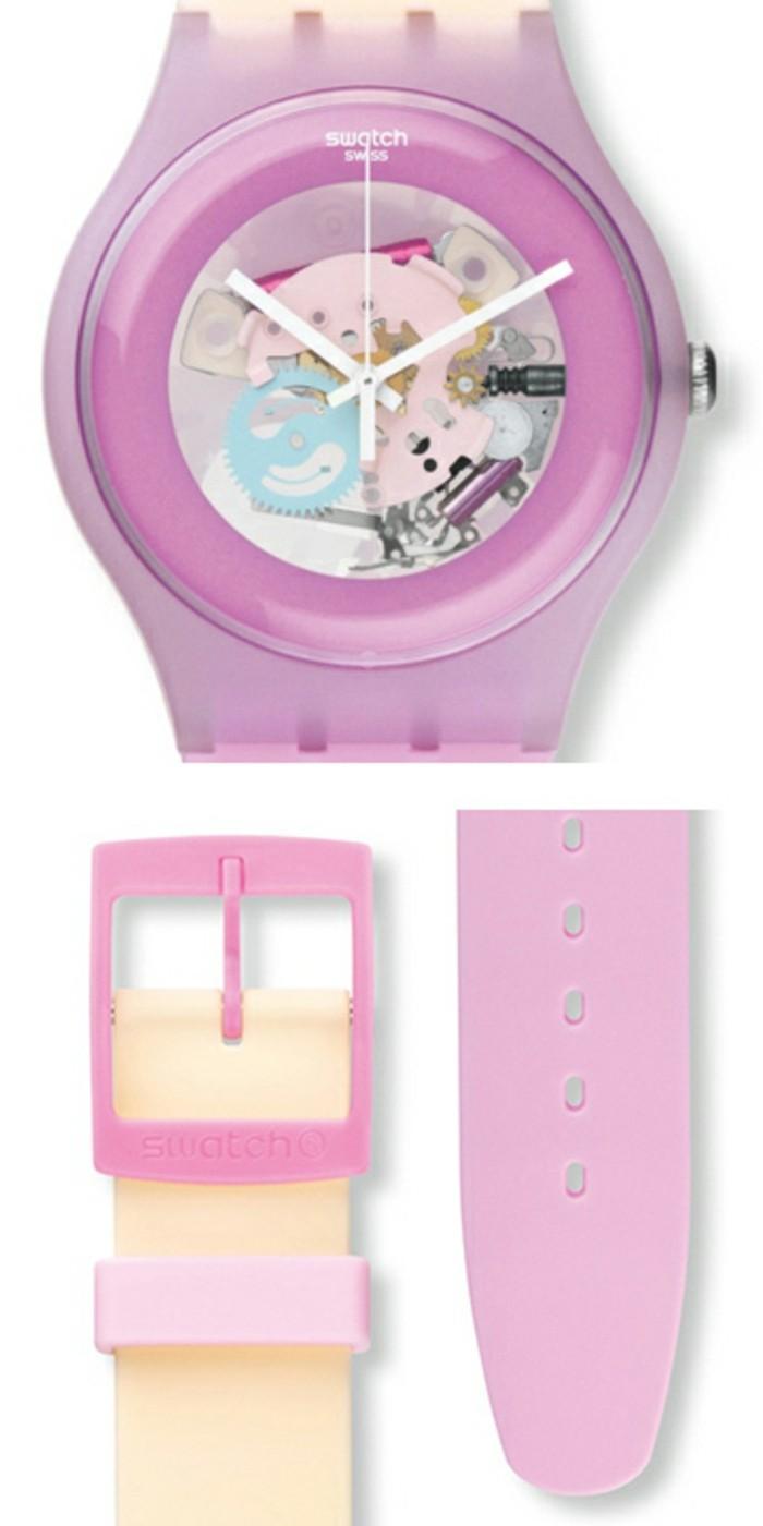 montre-swatch-transparente-rose-fermeture-de-diverse-couleur-resized
